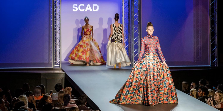 Scad fashwknd 2017 scad fashion show scad for Runway fashion show video
