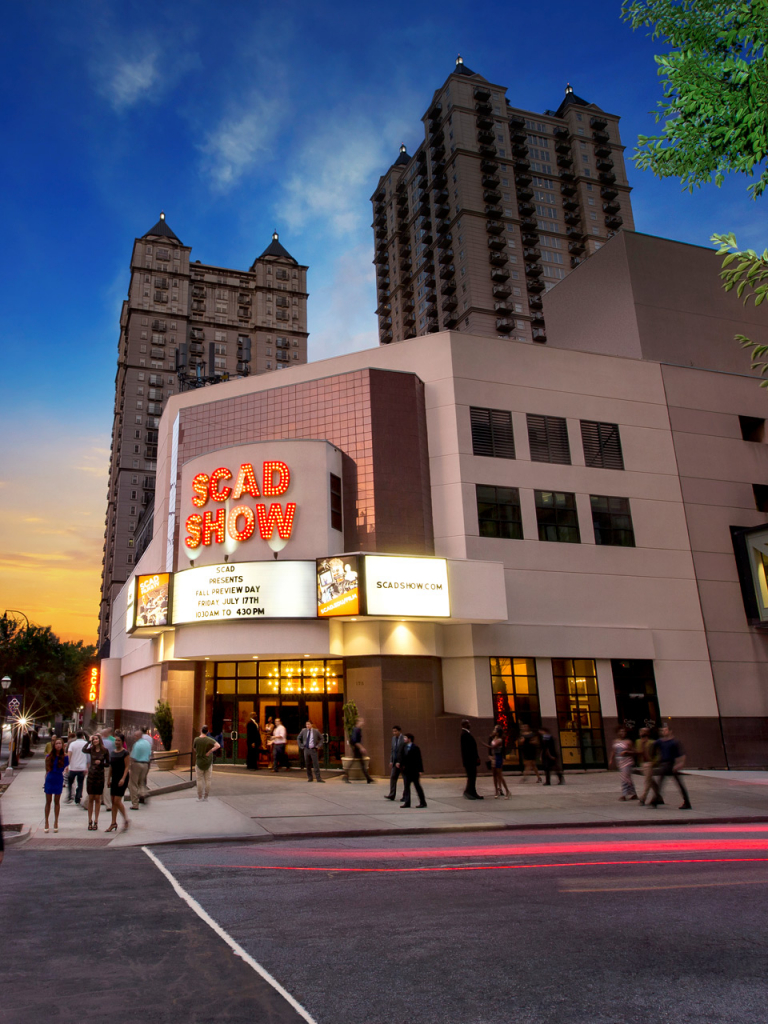 Exterior of SCAD Show Atlanta