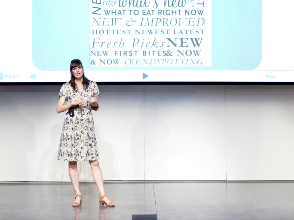Amy Flurry lecture, SCAD Style 2012