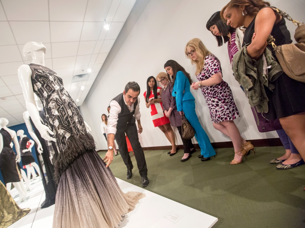 Bibhu Mohapatra class visit, SCAD Style 2013