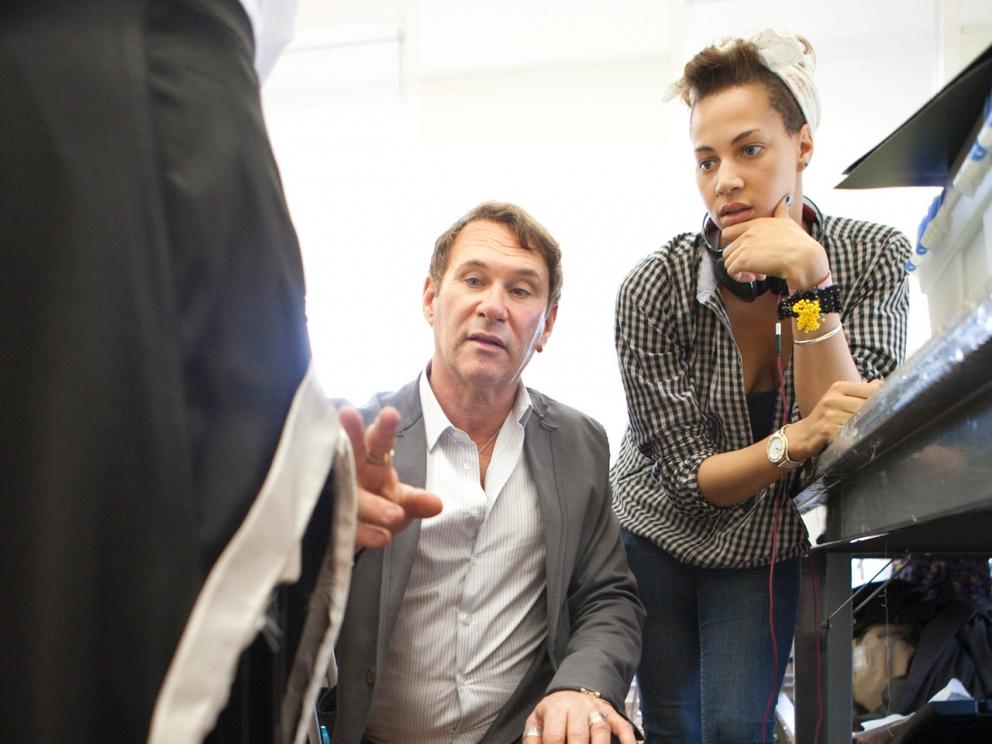 Hal Rubenstein class visit, SCAD Style 2012
