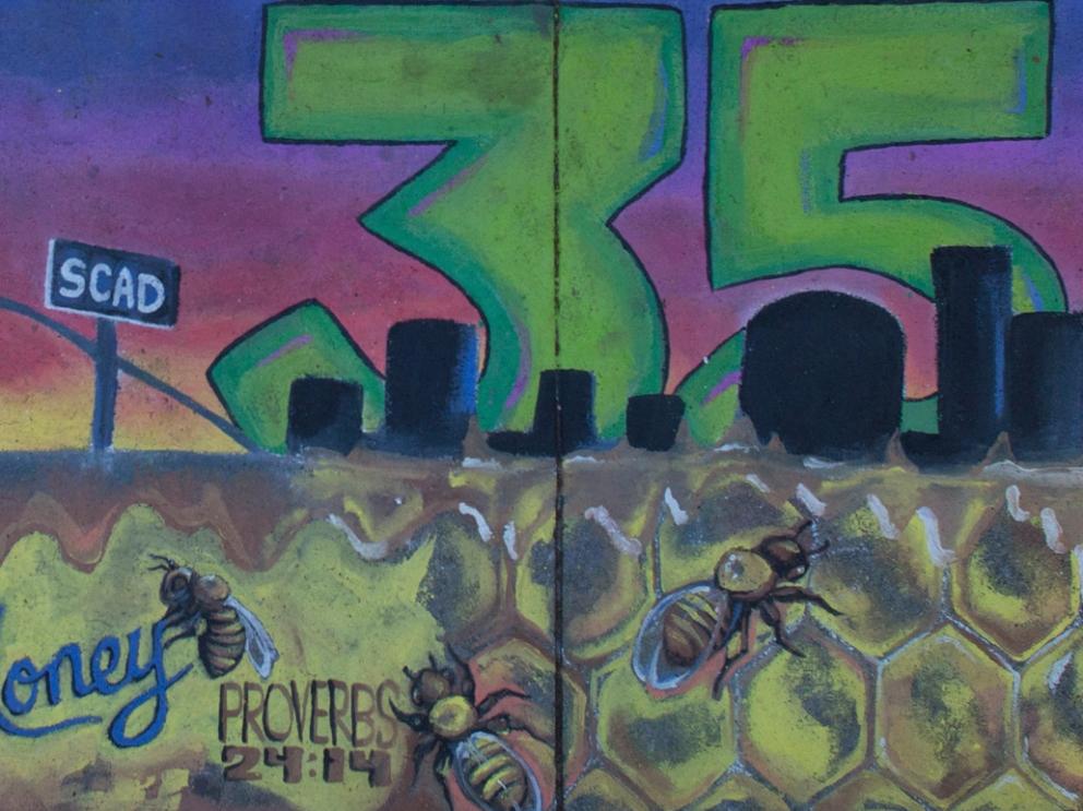 Sidewalk Arts 2014, 35th Anniversary square