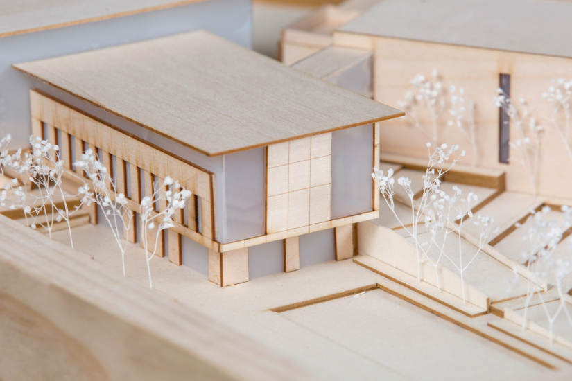 Architecture student work, Asheville Culinary Institute by Evan Smith