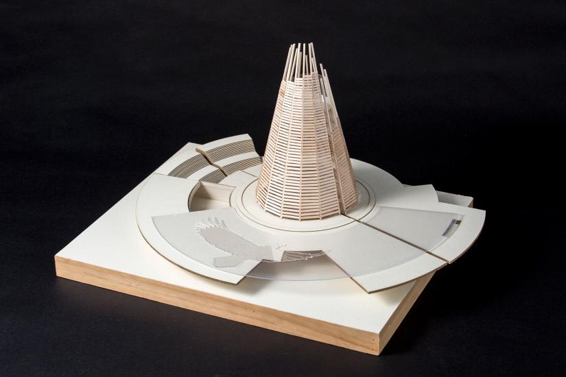 Architecture student work, Celebración de Arima by Raquiya Glasgow