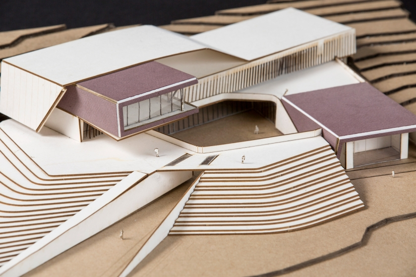 Architecture student work, Asheville Culinary Institute by Victor Rodriguez