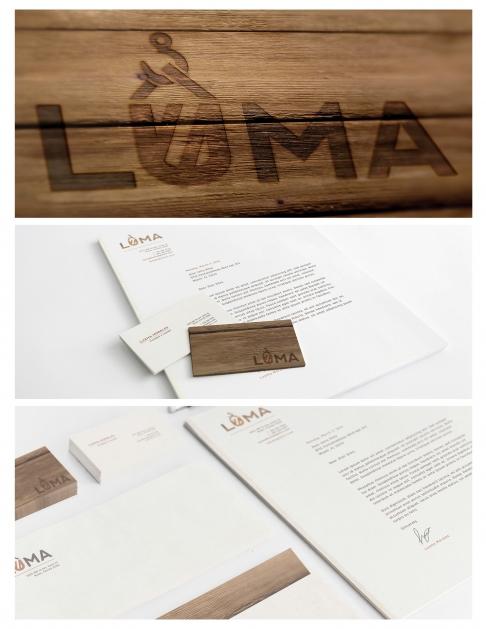 Graphic design student work, Luma by Veronica Silva