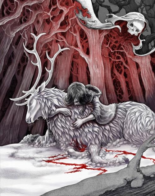 Illustration, Tiffany Petitt, Spring 2014, Death