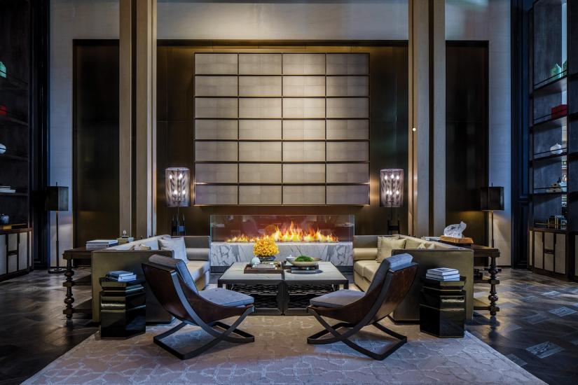"""Diaoyutai Hotel Hangzhou"" by interior design student Ken Hu"
