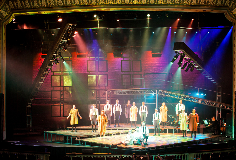 Production design, Spring Awakening