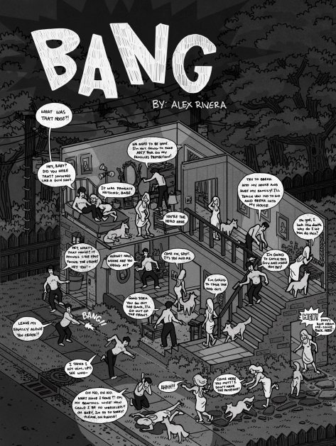 Sequential Art, Alexander Rivera, Bang, Winter 2014