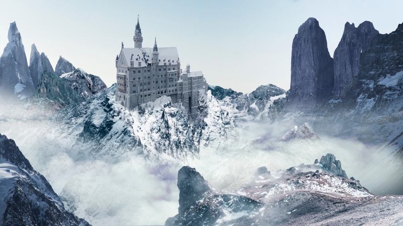 """""""The Castle in the Sky"""" by visual effects student Amanda Harris"""