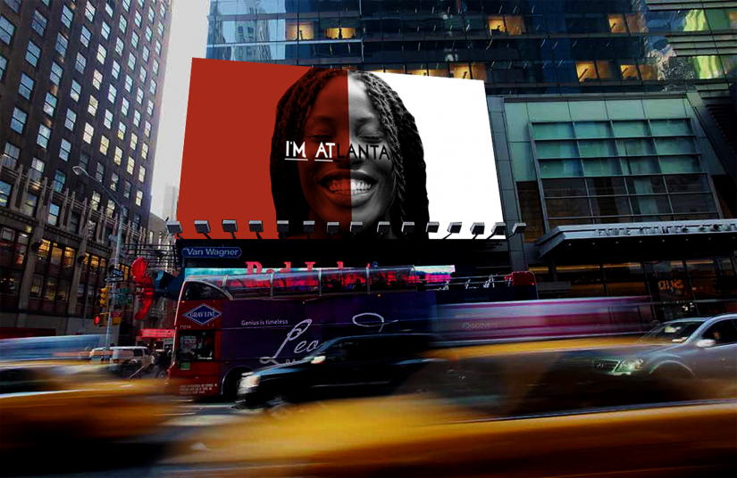 "Rachel Lack, advertising student, work ""I'm Atlanta"" earns HOW Magazine International Design Award"