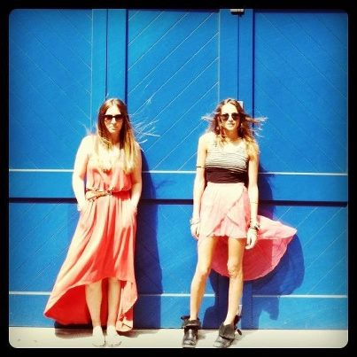Ariel Lilly and Christina Coniglio