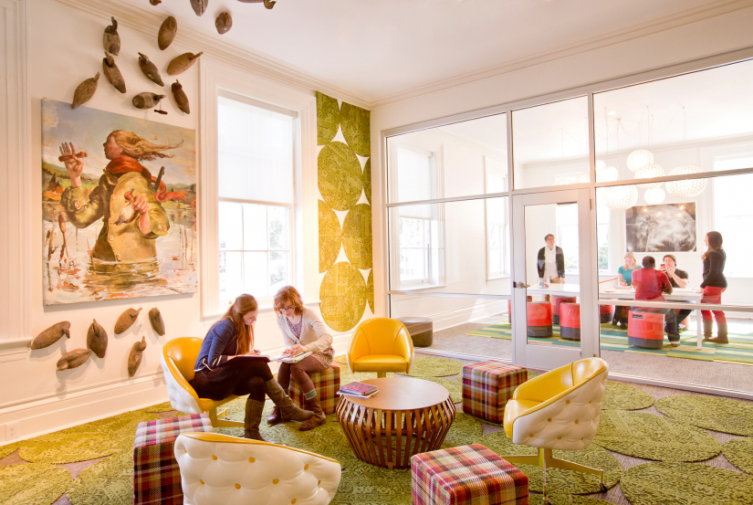 Kiah Hall Scad Savannah Undergraduate And Graduate Interior Design