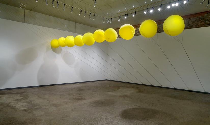 """""""Room Size,"""" City Ice Arts in Kansas City, Cory Imig, fibers"""