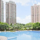 SCAD Hong Kong Gold Coast Residences building and pool view
