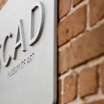 SCAD Museum of Art signage, SCAD Savannah