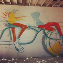 Matt Hebermehl mural for Converse and Juxtapoz magazine