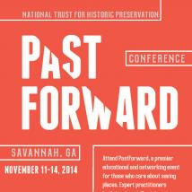 National Trust for Historic Preservation 2014 conference, PastForward