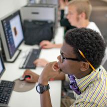 Rising Star 2012, computer lab