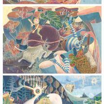 Yohei Horishita, Out to Launch, 2014, Illustration