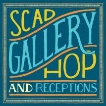 SCAD Gallery Hop and Receptions 2014
