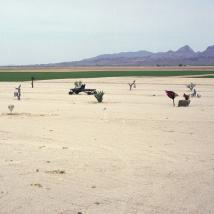 "Rebecca Nolan, ""Old US Highway 80, Yuma, AZ,"" 2013."